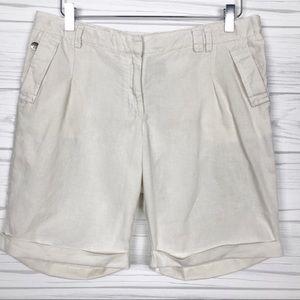 Katherine Barclay Cotton Lines Shorts